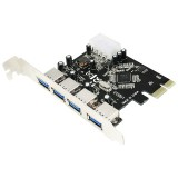 Card PCI Express 4x USB 3.0  LOGILINK PC0057A