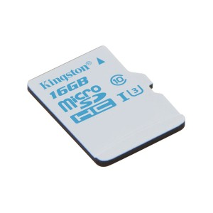 Card de memorie 16gb microSDHC Kingston SDCAC/16GBSP , Clasa 10, UHS-I U3