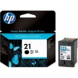 Cartus HP 21, Original, Black, 190 pagini, C9351AE