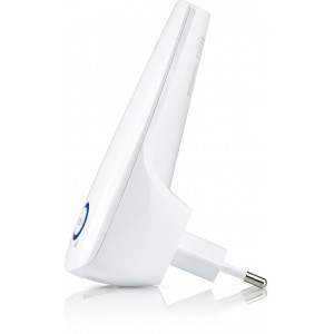 Range Extender TP-Link TL-WA850RE, Universal Wireless N 300Mbps, conectare priza 220V, 2.4GHz, 2 antene interne, 1 port LAN/WAN, Range extender button / Range extender mode, Atheros, 2T2R