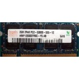 Memorie laptop Hynix SODIMM DDR2 2GB PC2-6400S 800MHz, 2Rx8, 200-Pin Laptop Memory HYMP125S6EFR8C-S6 AB