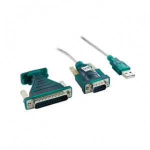 Adaptor USB la Serial DB9M DB25M, 4World