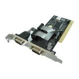 Controller 4World 2-porturi RS-232 (COM) pe PCI