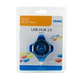 Hub USB 4 porturi, color