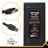 Alimentator LENOVO 20V 3.25A 65W conector 11x4.5x0.6mm gen USB dreptunghiular galben
