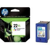 Cartus HP 22 XL, Original, Color, 415 pagini