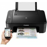 Multifunctional inkjet color Canon Pixma TS3350, wifi, negru, cartuse PG-454, CL-546