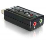 Placa de sunet USB 2.0 7.1 (virtual), Delock 61645