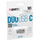 Stick Memorie 16GB USB3.0/TYPE C EMTEC