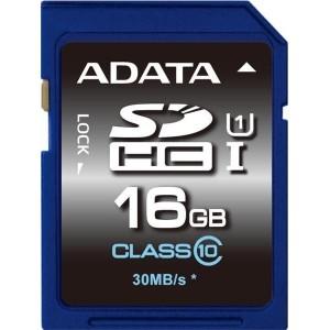 Card memorie 16GB SDHC UHS1, 30MBs, ADATA