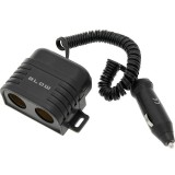 Adaptor pentru bricheta, 2 sloturi USB, BLOW
