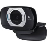 Camera web Full HD Logitech C615 HD, 8MP, USB 2.0, microfon, autofocus, negru, Cod: 960-001056