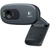 Camera Web HD cu microfon, Logitech C270 , foto/video 1280x720 pixeli, USB2.0, RightLight2 RightSound