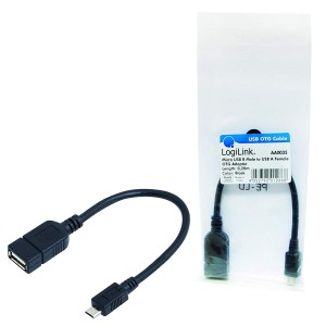 Cablu OTG usb mama - micro USB tata 20cm,  CABLU TABLETA OTG USB MAMA - MICRO USB TATA 20