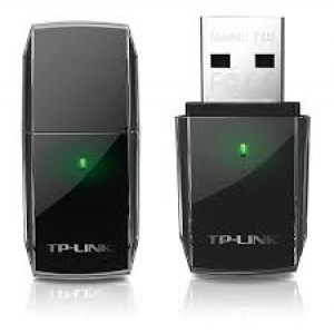 Adaptor wireless TP-Link Archer T2UH adapter USB Wireless AC600 2.4GHz, 5GHz RP-SMA