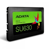 "SSD 480GB ADATA Ultimate SU630, 2.5"" SATA III, 3D NAND SSD, R/W speed: 520/450MB/s"