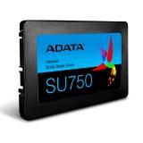 """SSD 256GB, 2.5 inch, S-ATA 3, 3D TLC Nand, R/W: 550/520 MB/s, ADATA Ultimate SU750 """"ASU750SS-256GT-C"""""""