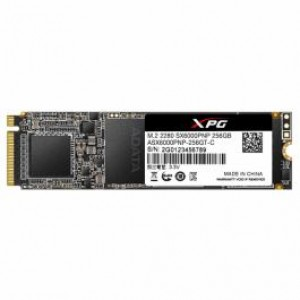 SSD 256GB M.2 2280 PCIe 3.0 x4 NVMe, 3D, TLC, R/W speed 1800MBs/1200MBs, ADATA XPG SX6000 PRO