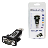 ADAPTOR USB2.0 la Serial RS-232 , LOGILINK AU0034