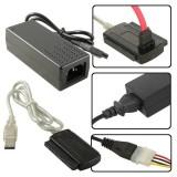 Adaptor USB la IDE 2.5'+3.5'' si SATA , conectare externa prin USB a unui Hard Disk la computer sau laptop, Gembird AUSI01
