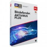 Licenta antivirus retail Bitdefender Antivirus Plus 2020, Nou, 1 AN - 1 calculator,  optimizat, anti-ransomware, confidentialitate VPN, SafePay