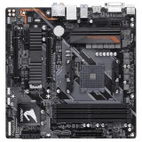Placa de baza Socket AM4 - Gigabyte B450 AORUS M, AM4, DDR4-3200, USB 3.1, DVI-D/HDMI, ptr  •  AMD Ryzen Gen 2/1 +  •  AMD Ryzen with Radeon Vega graphics