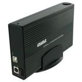 "Carcasa aluminiu pentru HDD SATA / IDE 3.5"", USB2.0,  4World 05296"