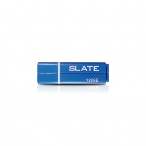 Memorie flash (stick) flashdrive Patriot Slate 128GB, usb 3.0, albastru, sleek abs plastic housing
