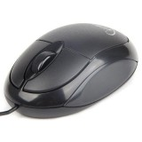 Mouse Optic GEMBIRD 1000 DPI, USB, black