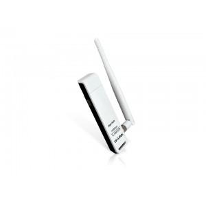 Adaptor wireless TP-Link TL-WN722N v.1.1, chipset Atheros, N150 HIGH GAIN, USB2.0, antena detasabila 4dBi,  1T1R