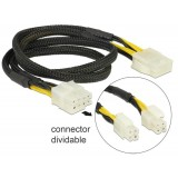 Cablu alimentare extensie de la 8 pini la 2x4 pini