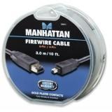 Cablu USB 2.0 MICRO 5pin, AM / B MICRO transfer/incarcare, 1.0m, negru, 4World 07947-OEM