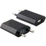Incarcator USB subtire 5V 1A negru, Manhattan