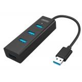 HUB USB 3.0, 4 porturi, UNITEK Y-3089