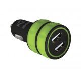 încărcător de mașină DUAL USB 3.1A, I-BOX C-12