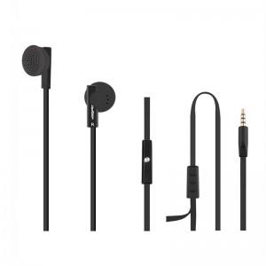 Casti + Microfon Qoltec 50804, negre