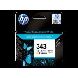 Cartus HP 343 Original, Color, 9 ml