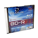 BluRay BD-R Titanum slim jewel case, 25GB, 4x