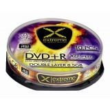 DVD+R Double Layer Extreme, cake box 10, 8.5GB, 8x