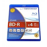 BluRay BD-R Esperanza, BOX 1, 25GB, 4x
