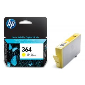 Cartus HP 364, Original, Yellow, 250 pagini
