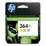 Cartus HP 364XL, Original, Yellow, 750 pagini