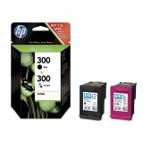 Set cartuse HP 300 negru + color, 2...