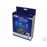 Switch KVM ATEN CS22U,  2-Port USB , Remote port selector, 0.9m cables