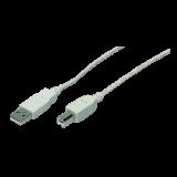Cablu imprimanta USB 2.0 A/B, 1,8m, LOGILINK CU0007