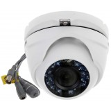 Camera supraveghere Dome 4in1 Hikvision DS-2CE56D0T-IRMF, 2.8mm, HD 1080p , 2MP, CMOS , 24 LED, 20m IR, IP66, ,Suport TV I /AHD / CVI / CVBS