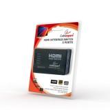 Switch HDMI cu 5 porturi, 5 intrari si 1 iesire, Gembird
