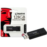 Stick Memorie 128GB USB 3.1 Kingston DataTraveler 100 G3
