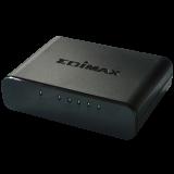 Edimax 5x 10/100Mbps Switch, Desktop, optional power supply via USB cable