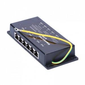 Adaptor Activ PoE Injector 48V cu cablu - EXTRALINK POE 48V-24W POWER ADAPTER WITH AC CABLE